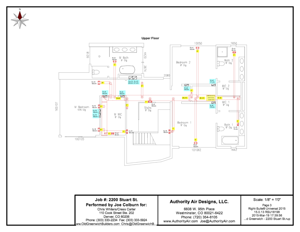 Authority Air Designs - Duct Layout 2