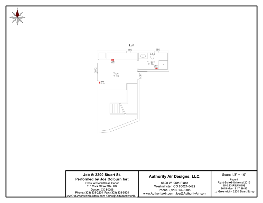 Authority Air Designs - Duct Layout 3