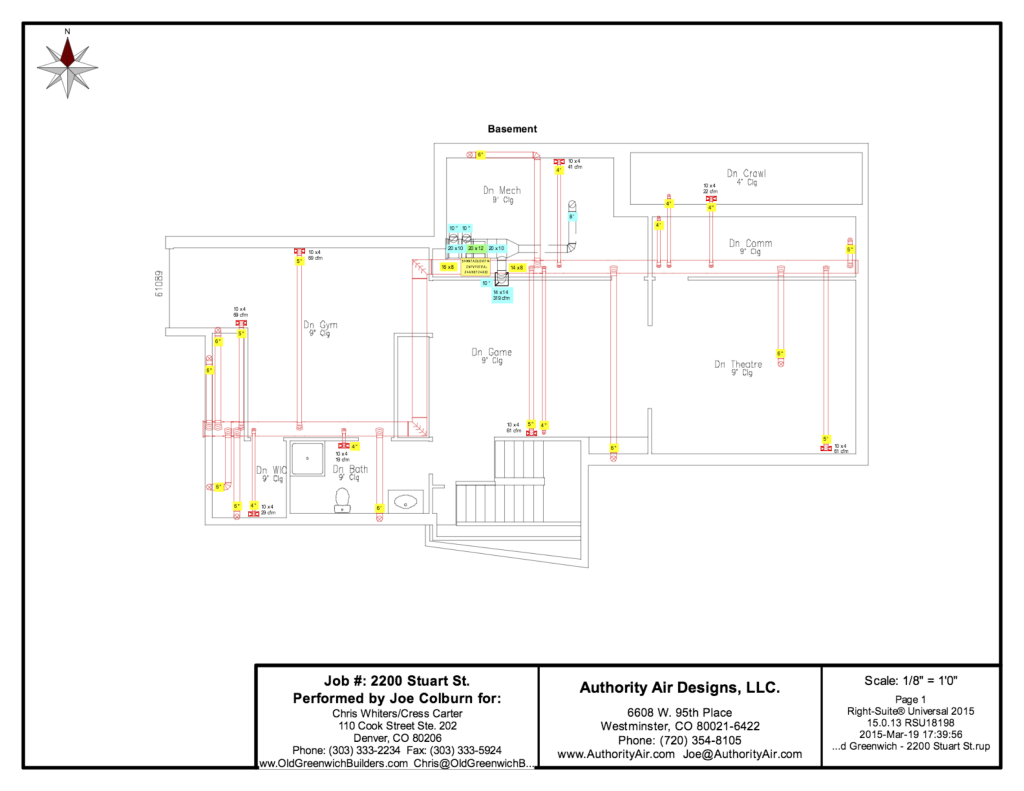 Authority Air Designs - Duct Layout 4