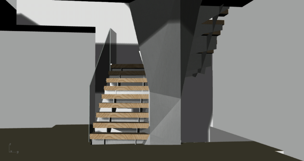 Staircase – Shroud, Tread and Riser Refinement – SLOAN'S